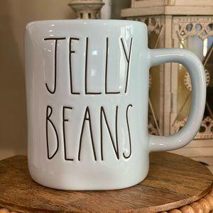 Rae Dunn Pastel Blue Jelly Beans Mug